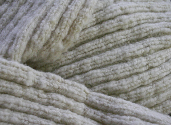 Babydoll wool scarf after washing